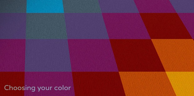 choosing color for carpet